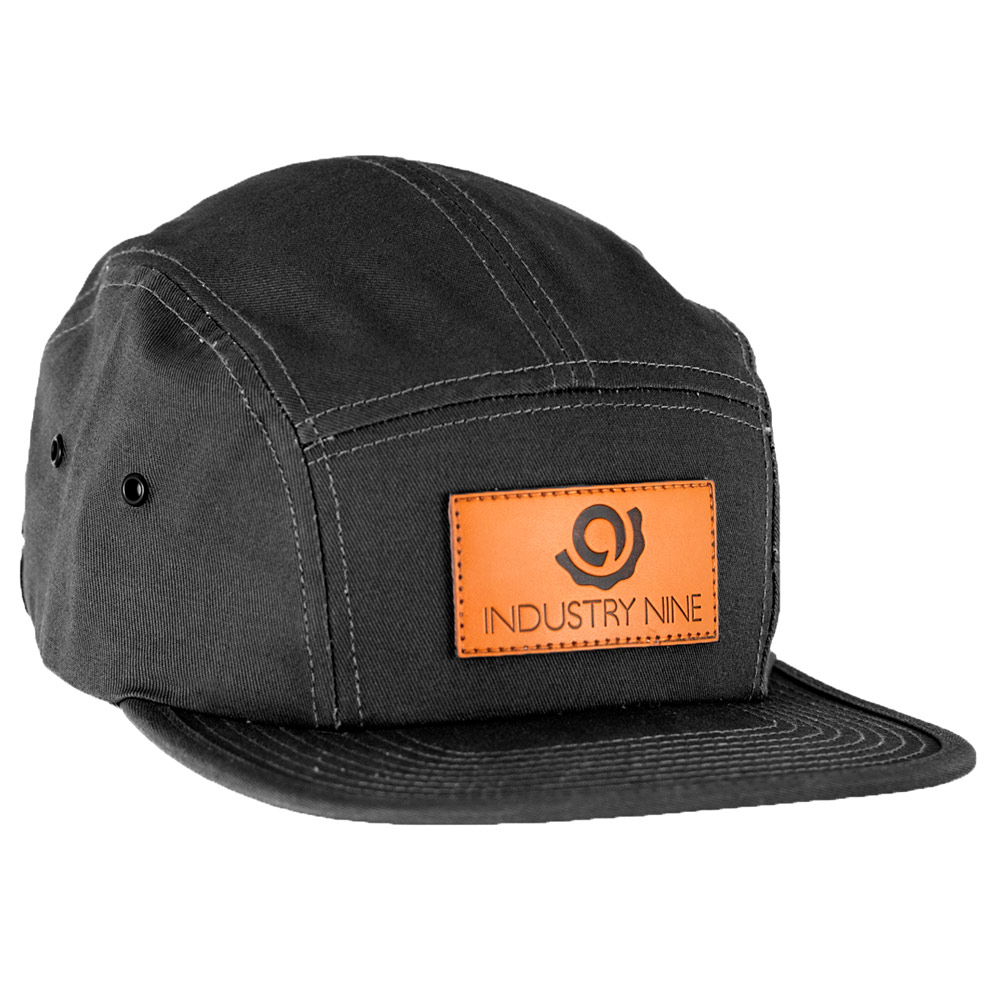 Part i9 Five Panel Black