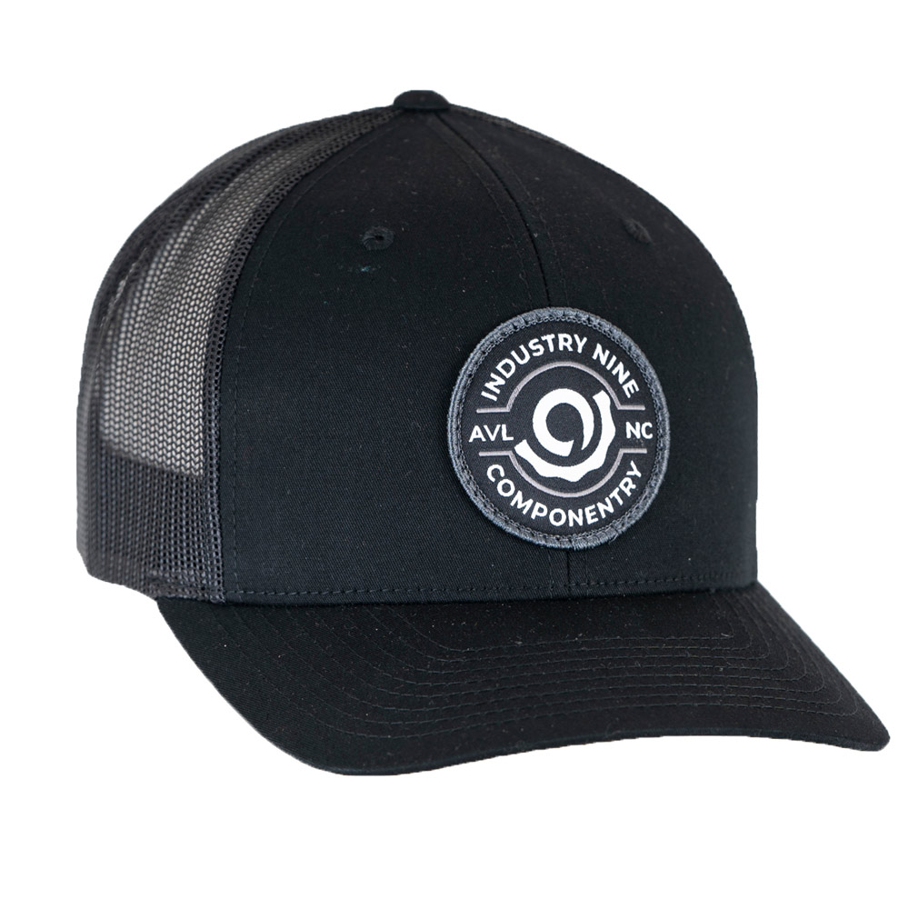 Part Black Staple Trucker